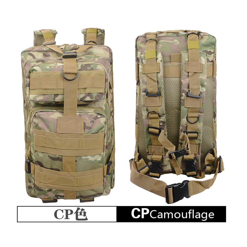 LONGDA Outdoor Tactical Backpack Military Rucksacks for Camping Hiking and Trekking Waterproof 30L (Black) Guangzhou Longda leather co. ltd