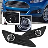 Remarkable Power FL7093 Fit For 2014-16 Ford Fiesta Front Pari Fog Lights Clear Lens