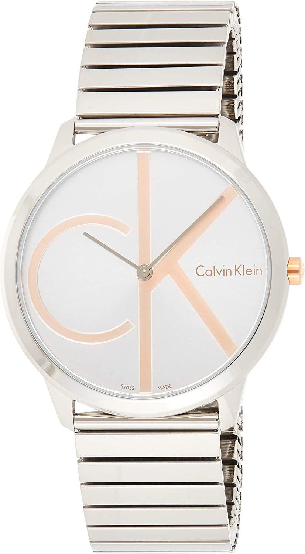 Calvin Klein Minimal Silver Dial Men's Watch K3M21BZ6