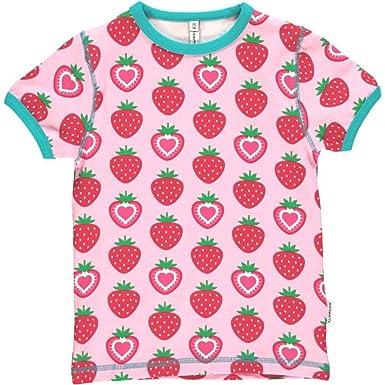Pink Shirt,Mädchen T-Shirt,Kurzarm Shirt