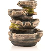 Pajoma 40204Habitaciones Brunnen, polirresina, marrón, 20,5x 15,5x 25,5cm