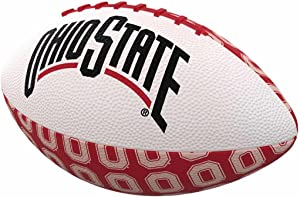 Logo Brands Officially Licensed NCAA Mini-Size Rubber Football, Team Color