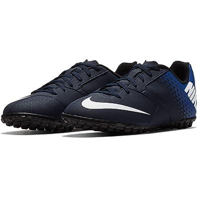 the latest 83aac 27261 Nike Bombax TF Jr, Chaussures de Football garçon, Multicolore  (Obsidian White-