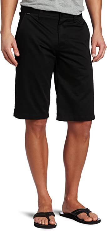 Fox Racing Essex Tech Mens Solid Shorts Heather Graphite