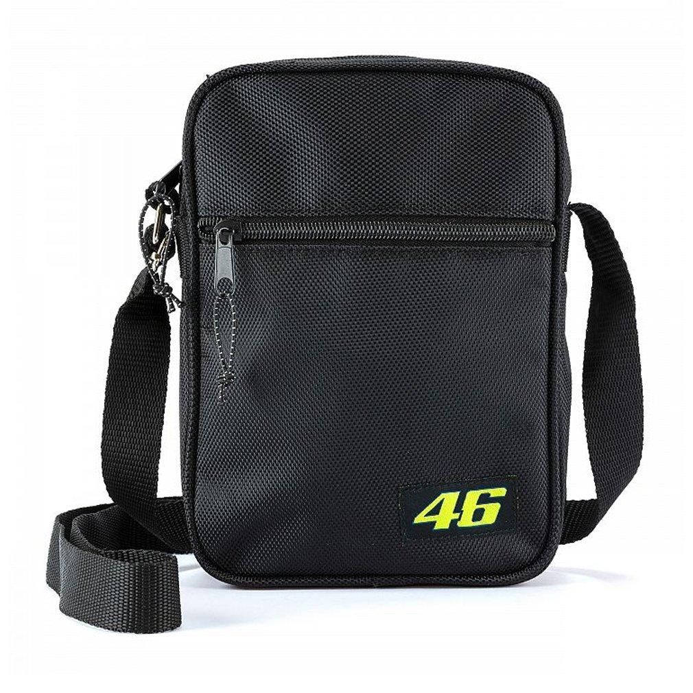 Valentino Rossi VR46 Moto GP Shoulder Bag Black Official 2018