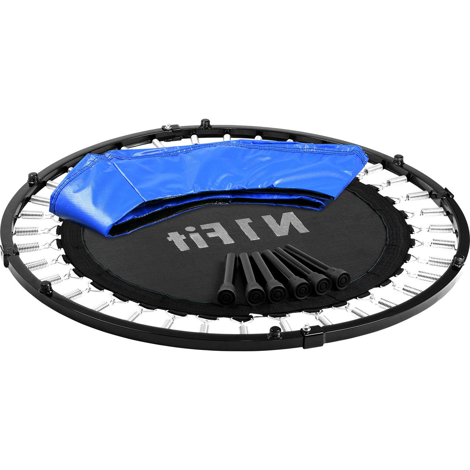 N1Fit Mini Trampoline for Adults - Exercise Trampoline, Mini Trampolines, Personal Trampoline, Trampoline Small Indoor, Rebounding Tiny Trampoline with Springs System for Home Cardio Workouts 40'' by N1Fit (Image #7)
