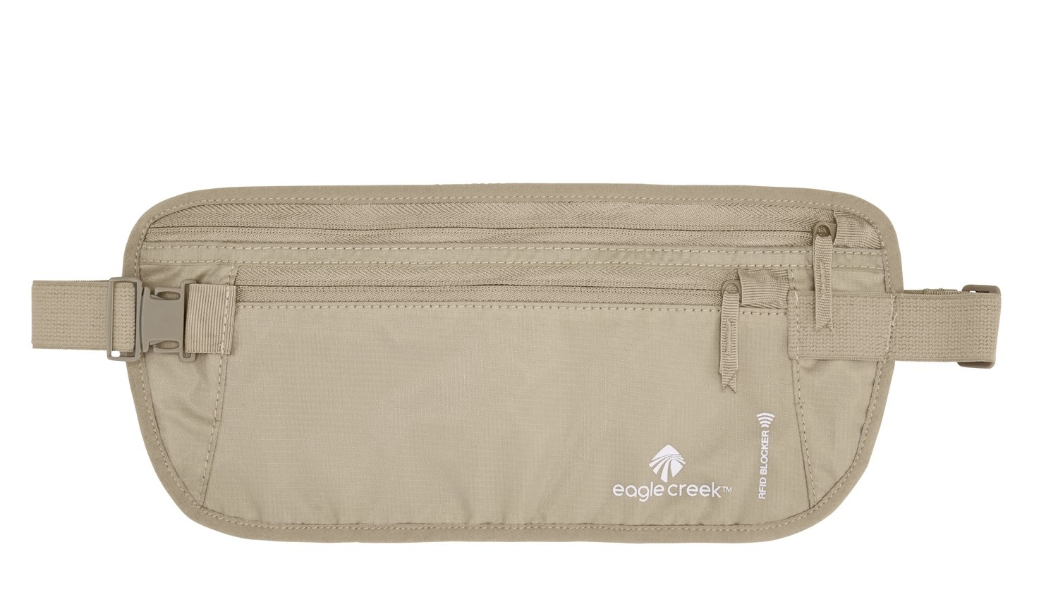 Eagle Creek Travel Gear Luggage RFID Blocker Money Belt DLX, Tan by Eagle Creek