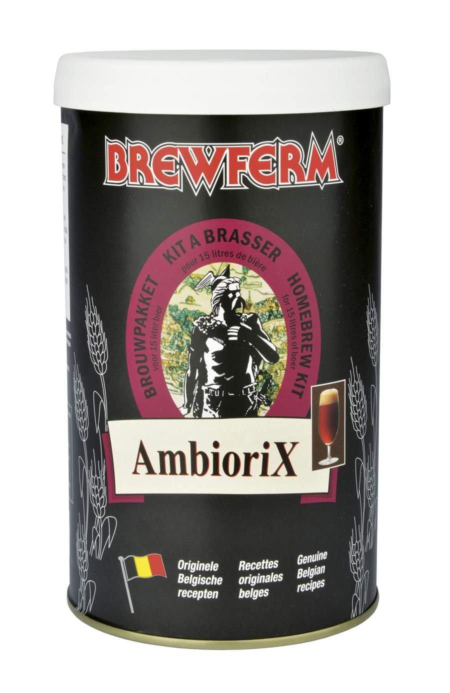Malto preparato birra belga Brewferm Ambiorix