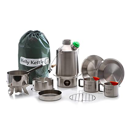 Amazon.com: Kelly Kettle Ultimate Estufa de acero inoxidable ...