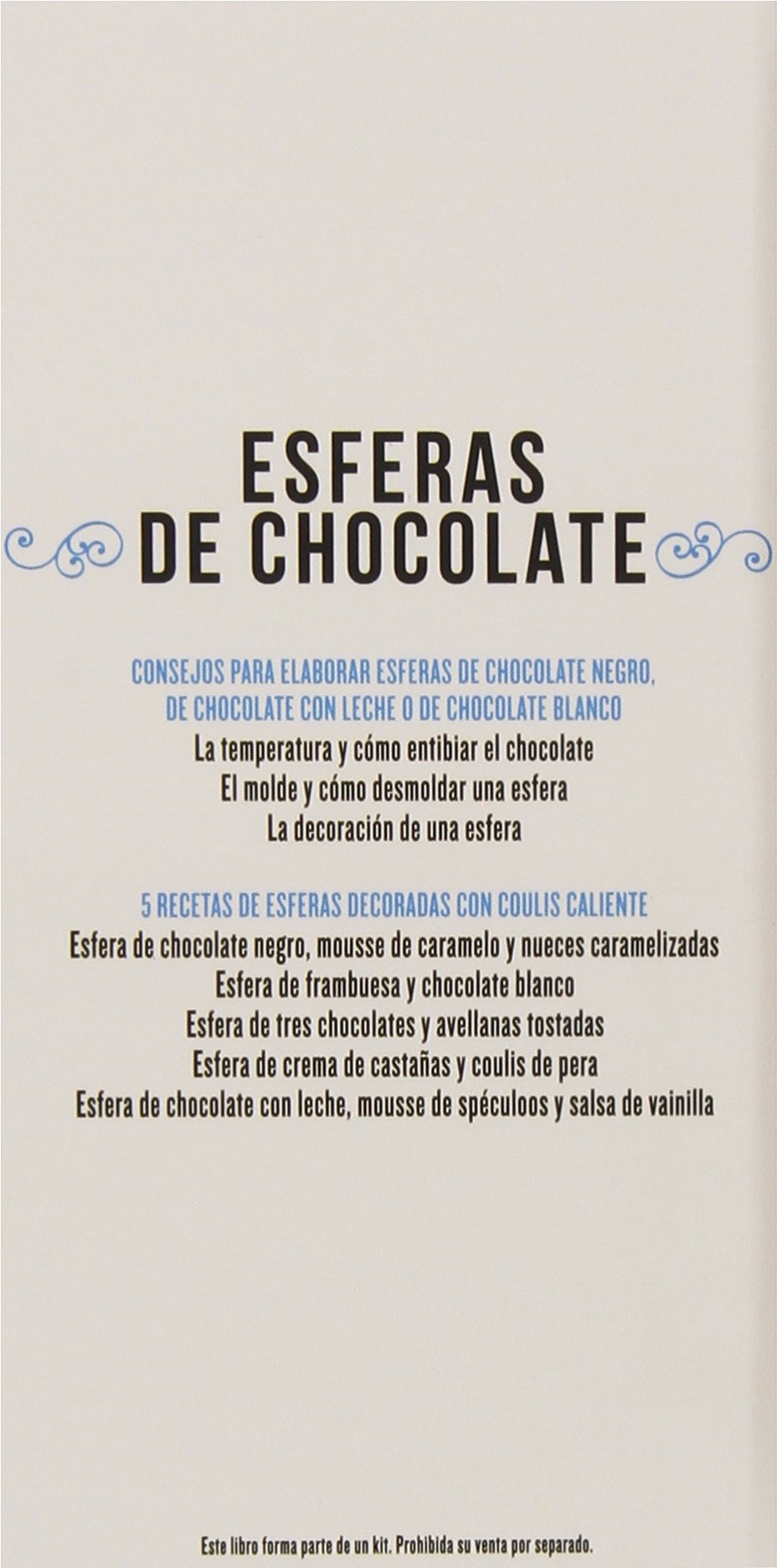 Kit Esferas de chocolate: Christelle Huet-Gomez: 9788448021511: Amazon.com: Books