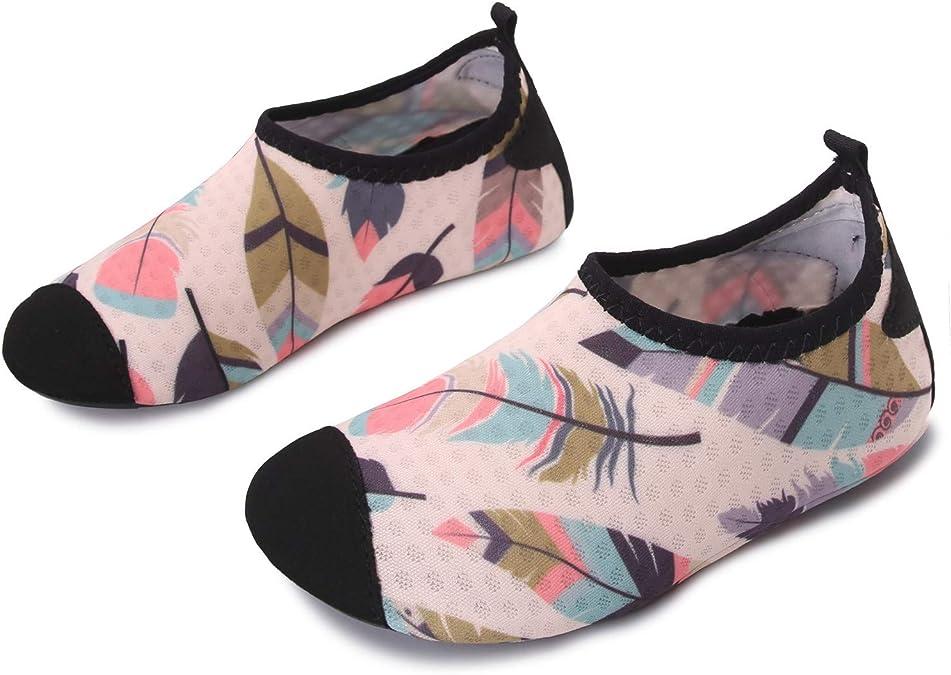 Imagen deJOINFREE Zapatillas de Agua para niños niñas Escarpines de Verano Zapatillas de Playa Piscina Surf Water Shoes