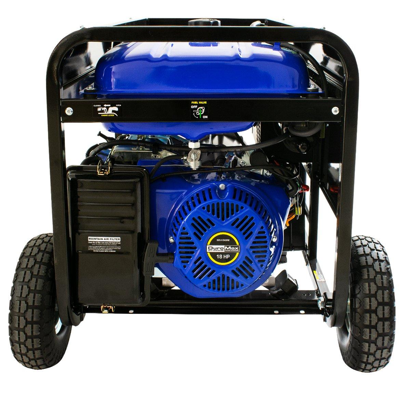 Duromax Hybrid Dual Fuel Xp12000eh 12000 Watt Portable Duramax Filter Prime Generator Garden Outdoor