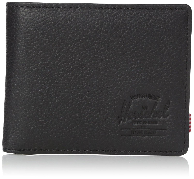 [ハーシェルサプライ] 財布 Hank + Coin 10369-00001-OS B01LZE9XUR Black Pebbled Leather Black Pebbled Leather