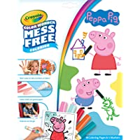 Crayola Color Wonder Peppa Pig Coloring Pages, Mess Free, Gift for Kids, Age 3, 4, 5, 6