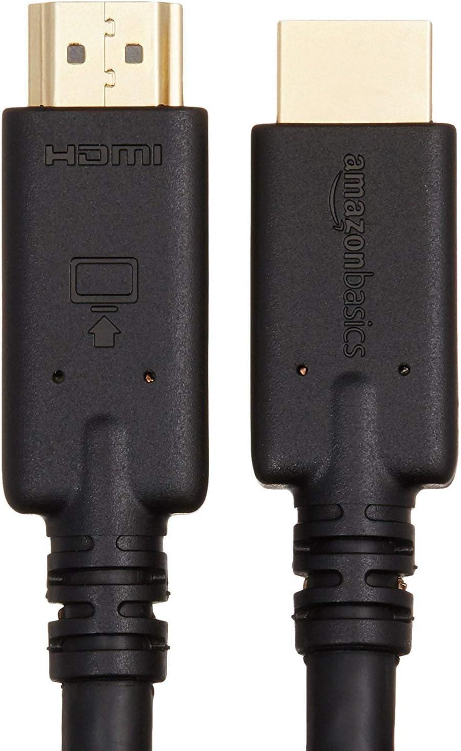 AmazonBasics - Cable HDMI no bidireccional con tecnología RedMere, 10.7 m