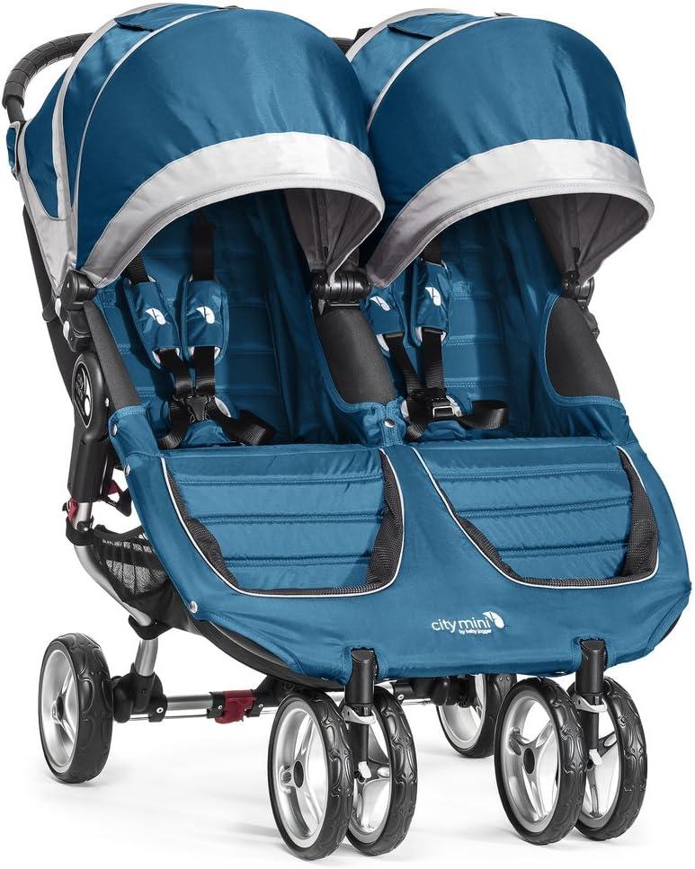 color turquesa//gris Silla de paseo Baby Jogger City Mini Gemelar