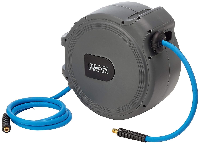 Ribimex autom/ática de bobinas de manguera de aire 20 m