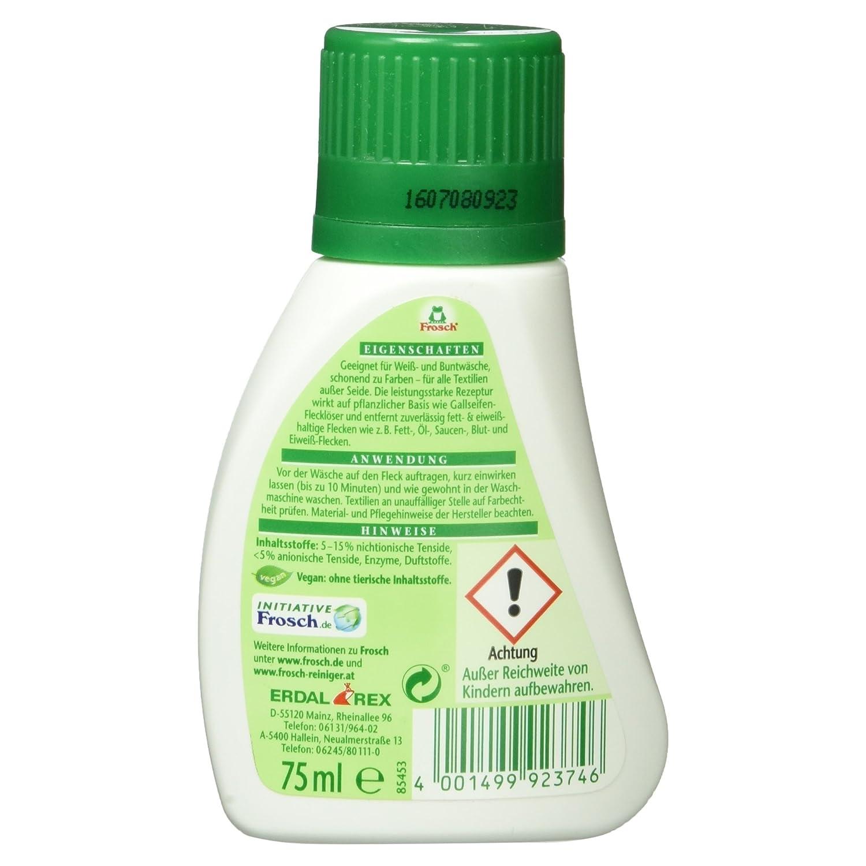 Rana como bilis jabón quitamanchas 75 ml - vegano: Amazon.es: Alimentación y bebidas