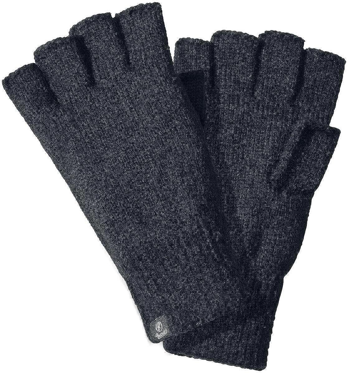 Brandit Finger Tall Guantes sin Dedos Negro M