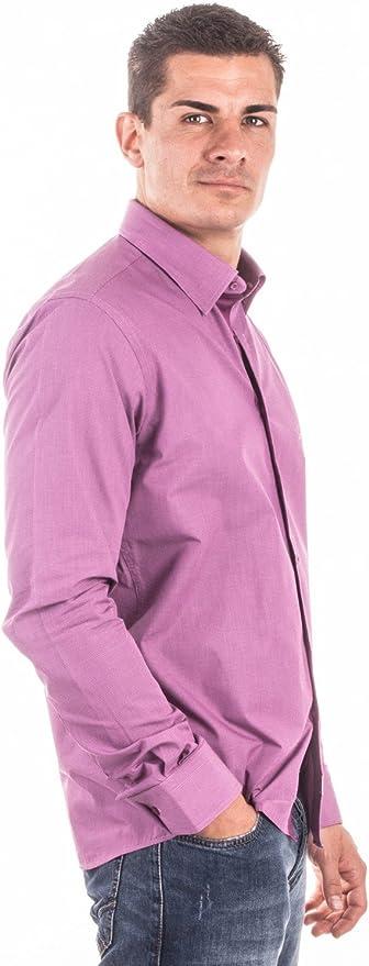 Santa Barbara Camisa Cuadros Rosa/Morado SB 1208 rosa/lila 48/50: Amazon.es: Ropa y accesorios