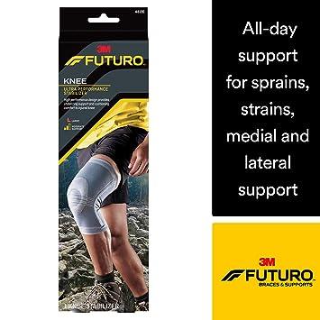 b81aa7e6ad Amazon.com: Futuro Active Knit Knee Stabilizer, Moderate Stabilizing ...
