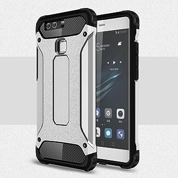 MyCase Estuche Rígido para Huawei P9 Lite Silver Armor Full Cover ...