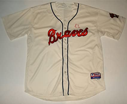 new product 0d34d ed1a0 Greg Maddux Autographed Jersey (Braves) at Amazon's Sports ...