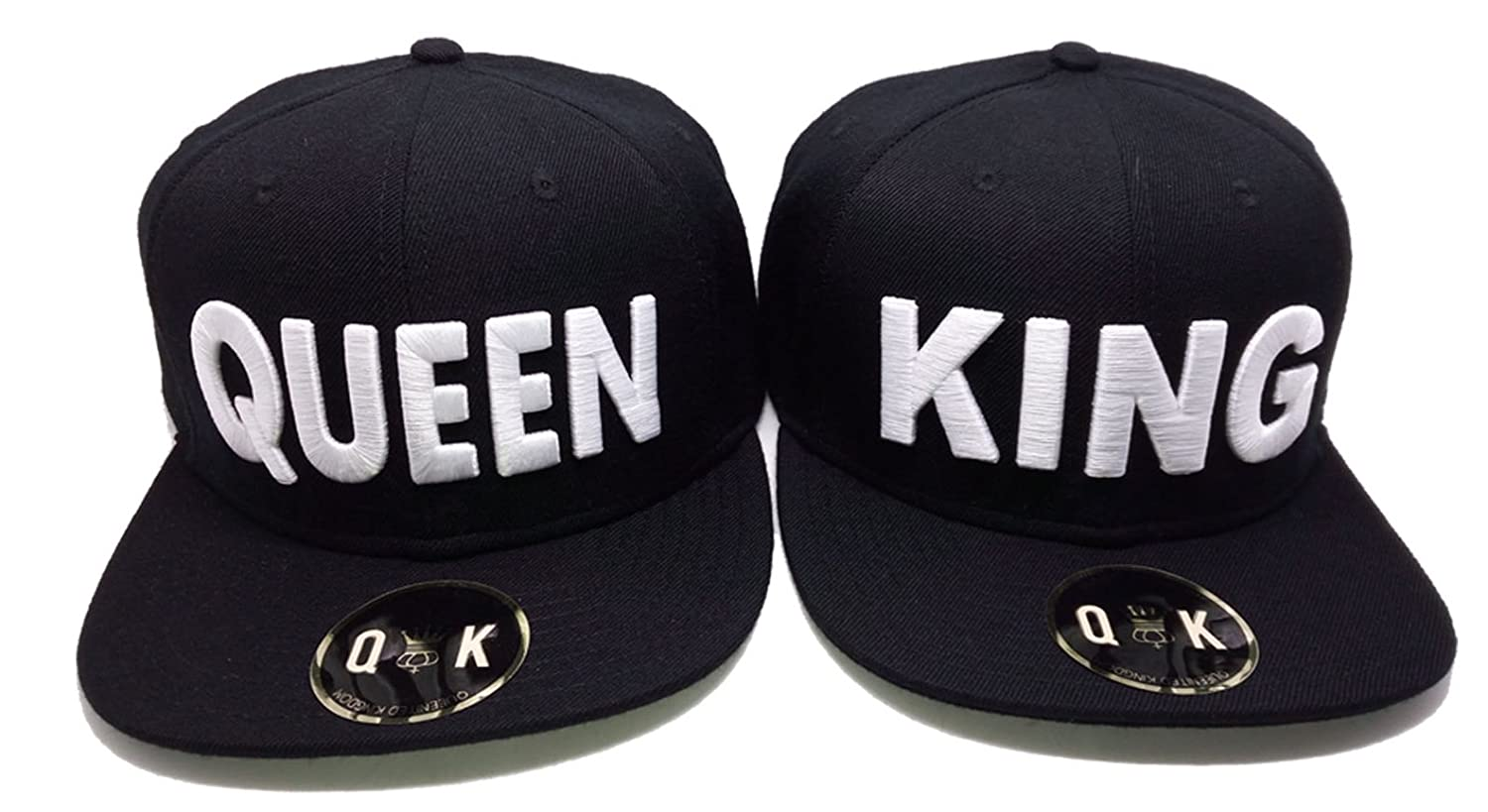 Matching Snapbacks/Baseball CAPS for Couples (King/Queen, Beauty/Beast)