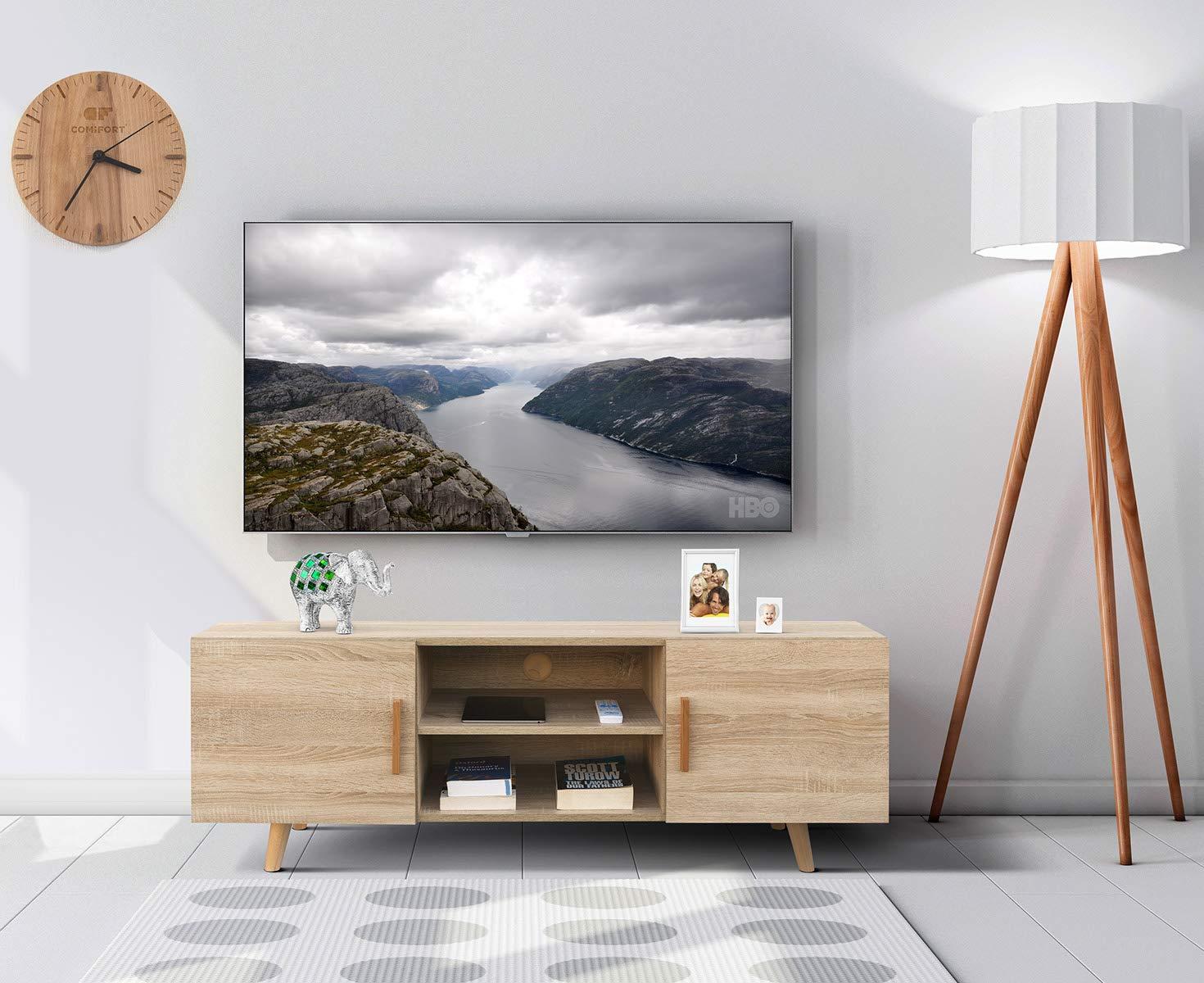 Comifort Tv85 Meuble Tv Salon Style Moderne Nordique Table Té L
