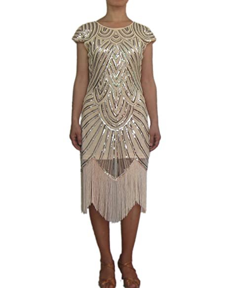 Amazon.com: whitewed Womens clásico 1920s 20s Disfraces de ...