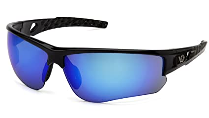 35fe3e3ab444 Venture Gear Atwater Safety Glasses, Silver Black Frame/Ice Blue ...