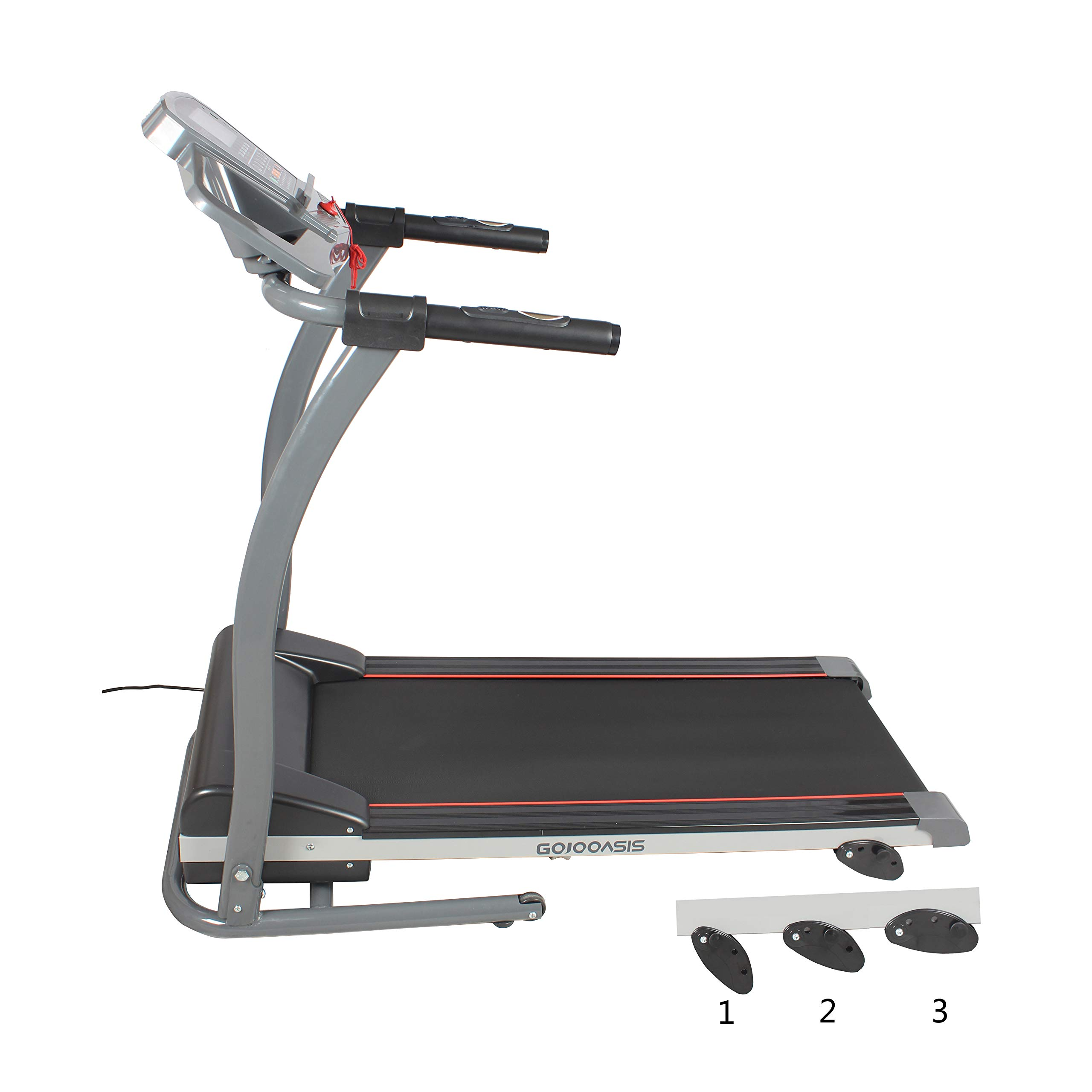 GOJOOASIS 2.0HP Treadmill Folding Motorized Running Exercise Machine w/Incline by GOJOOASIS (Image #4)