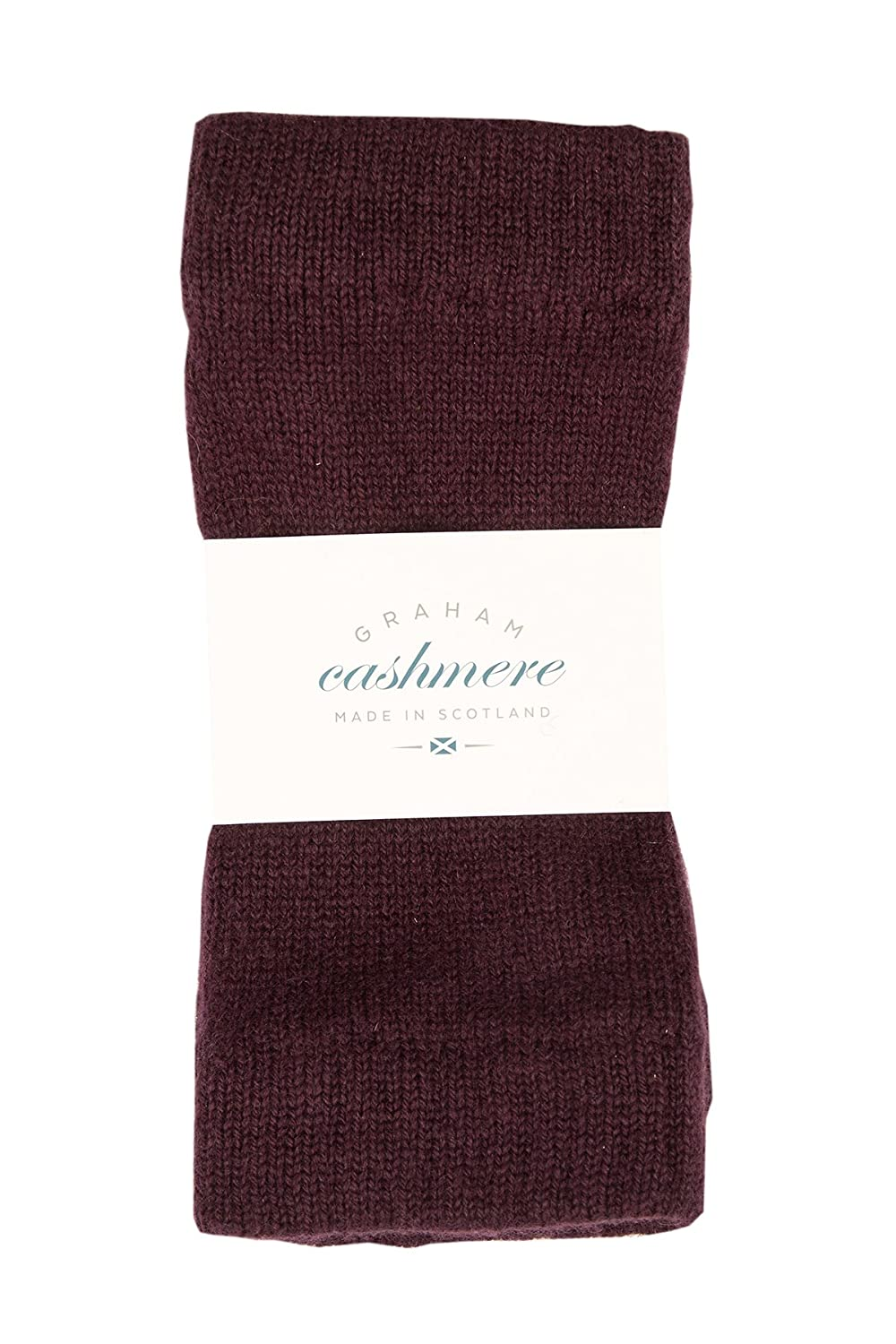 Graham Cashmere - Pure Cashmere Fingerless Wrist Warmers - Made in Scotland - Gift Boxed