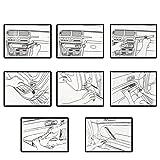 Astra Depot 4pcs Portable Auto Car Radio Door