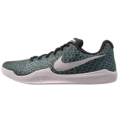3ff8ddcd45d4 Nike Mens Kobe Mamba Instinct Basketball Shoes Turbo Green White-Black-Igloo  (