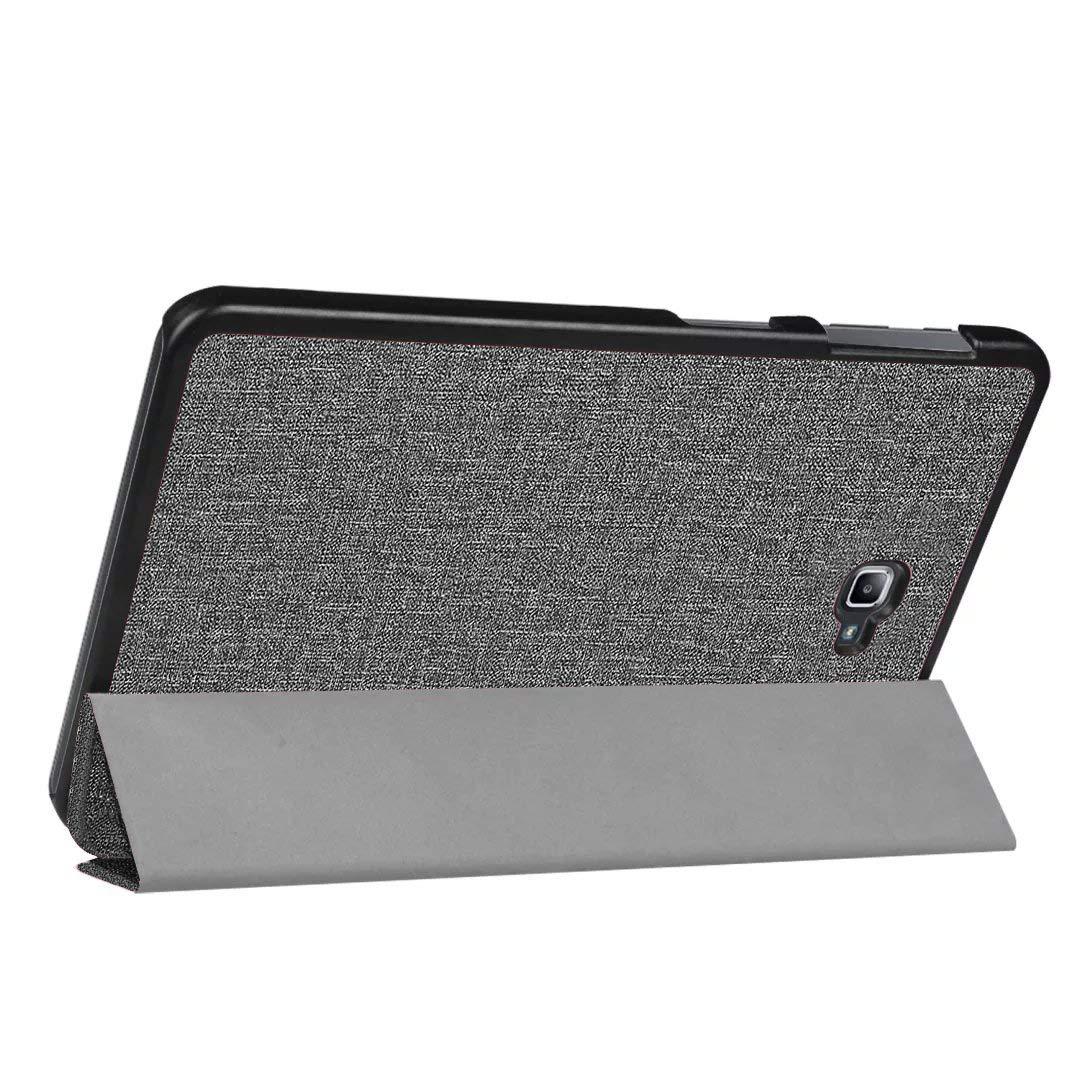 ProCase Funda Tipo Libro Plegable Galaxy Tab A 10.1 SM-T580 T585 T587 2016, Carcasa Folio con Soporte y Tapa Inteligente para Samsung Galaxy Tab A 10.1 ...