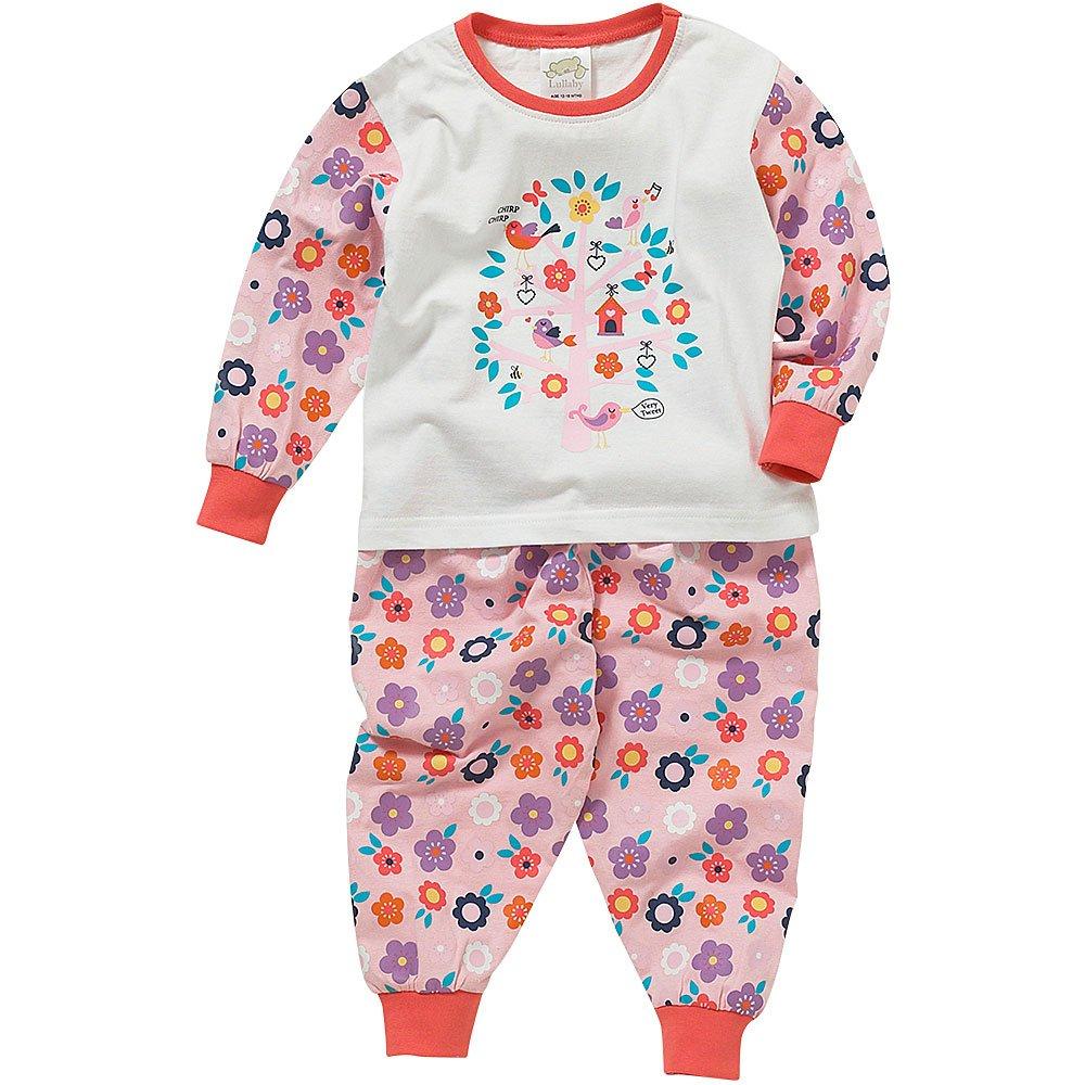 Lullaby Toddler Girls Very Tweet Cute Birds Long Sleeve Pyjamas