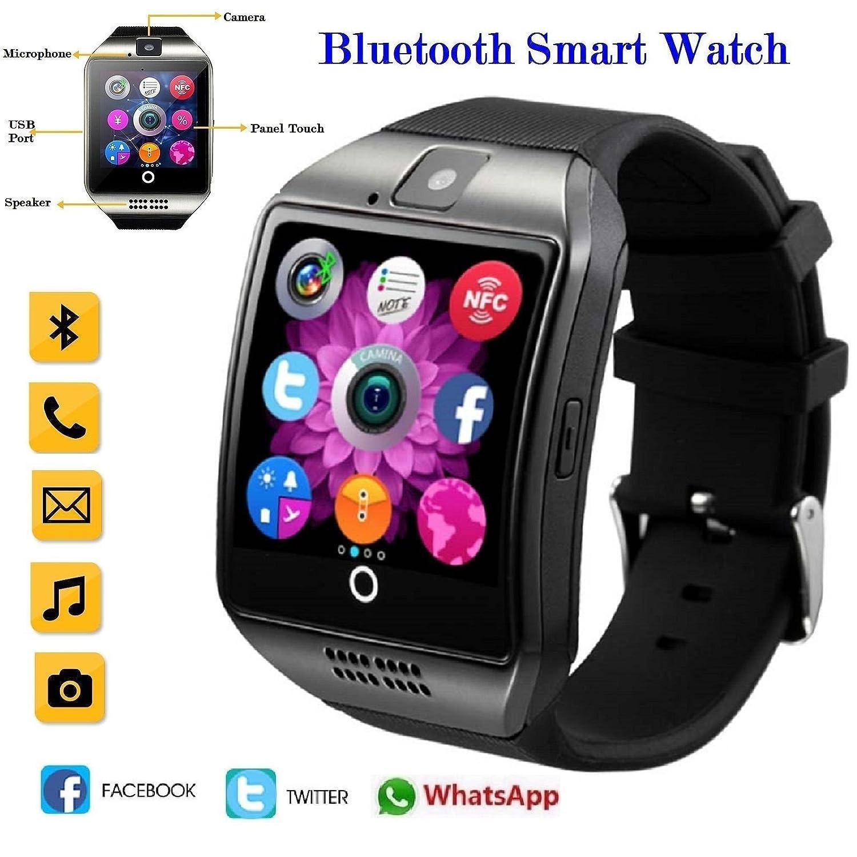 Q18 Smartwatch teléfono Bluetooth reloj de pulsera con ...