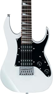 Ibanez 6 String Solid-Body Electric Guitar, Right Handed, White (GRGM21WH)