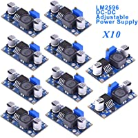 Innovateking-EU 10pcs LM2596 DC-DC Step Down Buck Converter