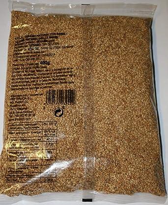 SESAMO Tostado Semillas. 400Gr / Sin Gluten: Amazon.es ...