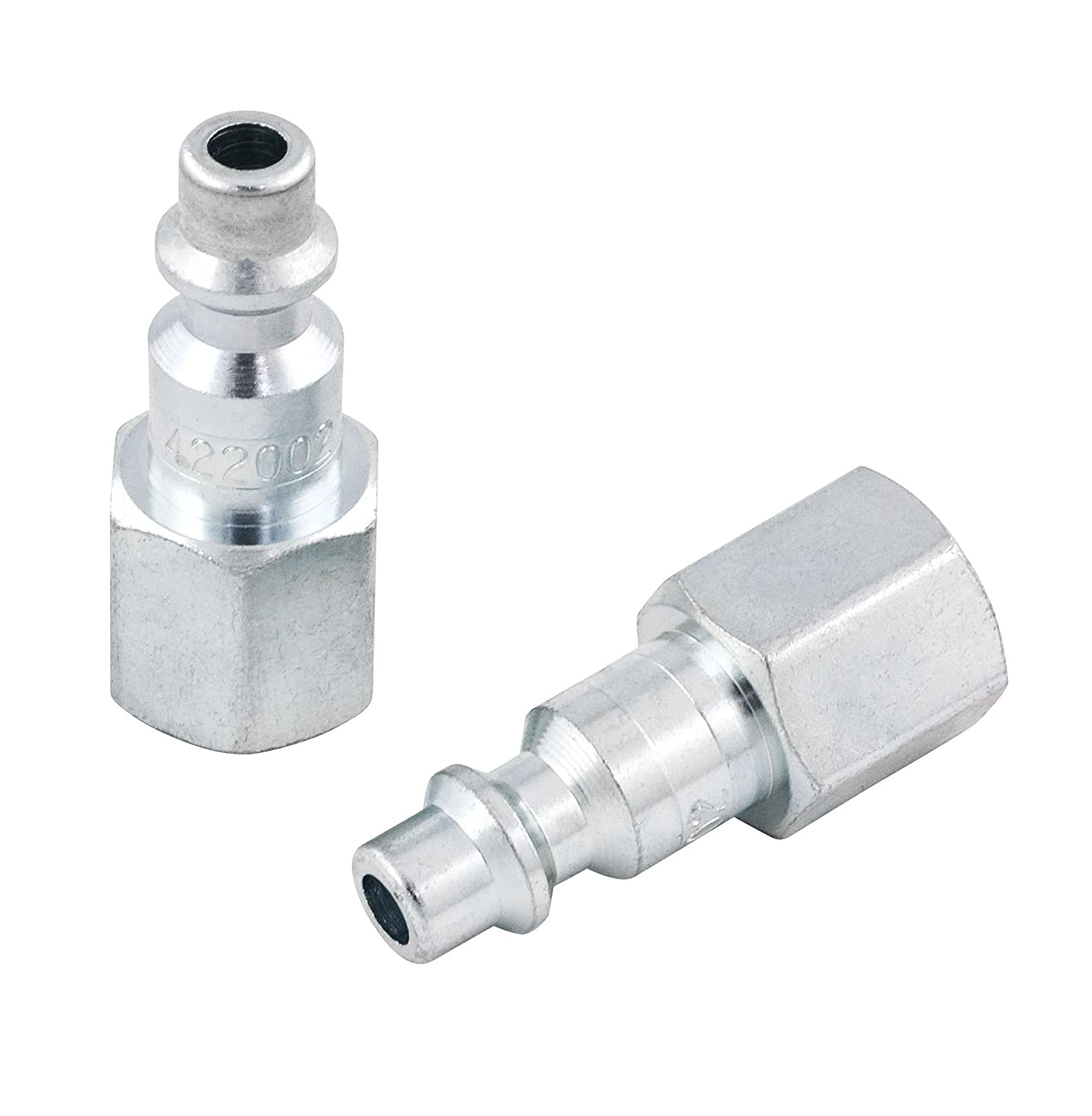 Jet 420002 - I/M' Plug Female-1/4' Body X 1/4' Npt (2/Pkg) JET Equipment & Tools