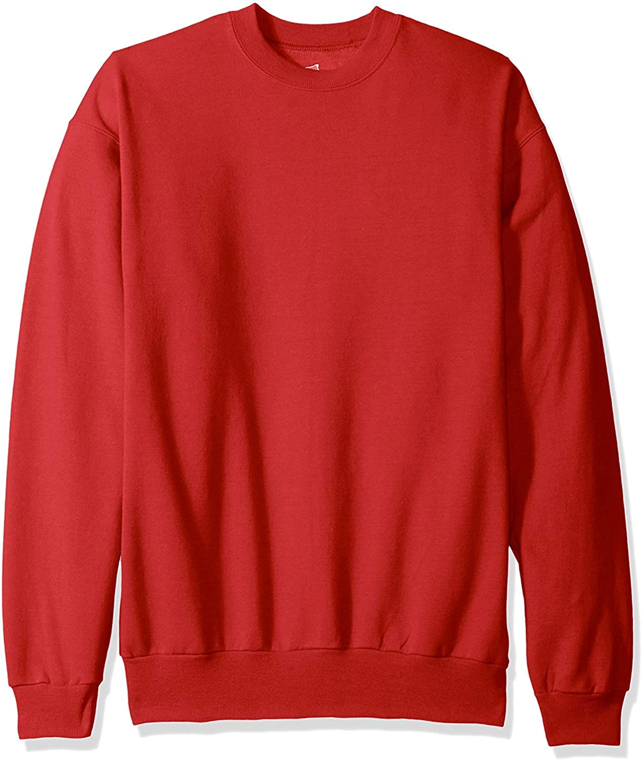 Hanes 7.8 oz. 50/50 Fleece Crew (P1607) Deep Red, 5XL