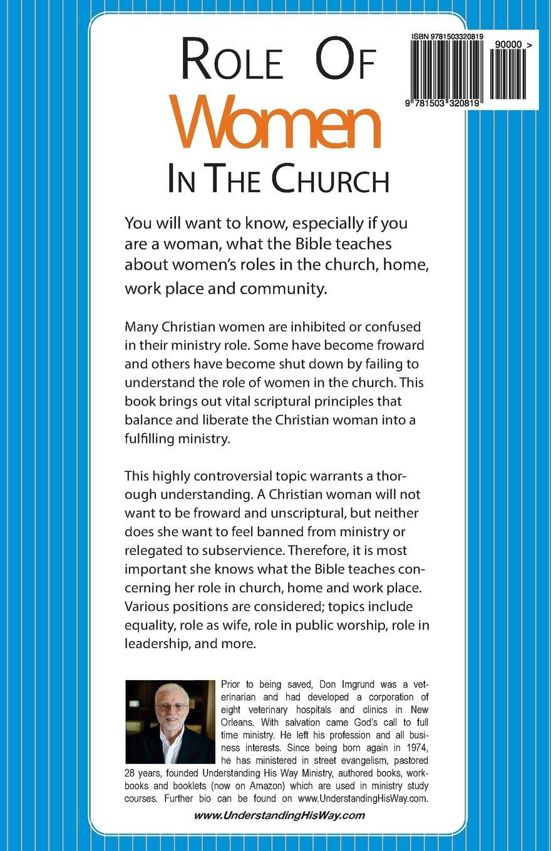 Workbooks christian workbooks for women : Role of Women in the Church: Don Imgrund: 9781503320819: Amazon ...