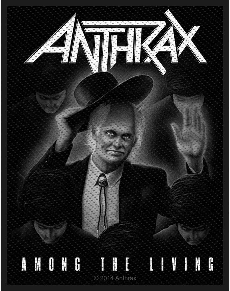 Among the living ANTHRAX Patch