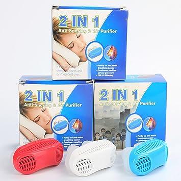 Actualización Avanzada 2 En 1 Anti-Ronquidos Y Purificador De Aire Sleep Breath Aids-