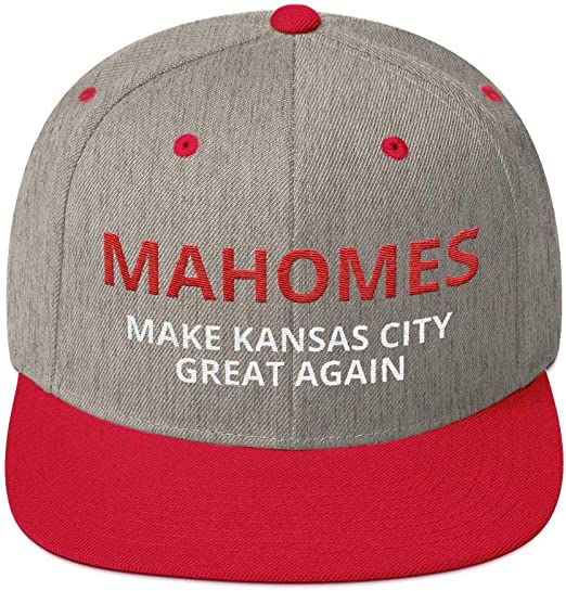 new arrival cheap for sale picked up Amazon.com : LiberTee Mahomes Chiefs Flatbill Hat, Make Kansas ...
