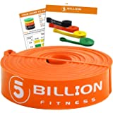 5BILLION Pull Up Assist Bands - Bande di Resistenza per Stiro & Allenamento di Potenza - Heavy Duty Esercizio Bande - Powerlifting Bande per Stiramento, Pilates,Yoga, Terapia, Il Correre
