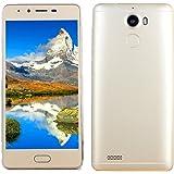 "BYSTE Smartphone Telefono, 5.0"" Ultrathin Android5.1 octa-Core 3G + 32G 4G/GSM, Wi-Fi Bluetooth Doppia Sim Dual Camera Cellulare Intelligente Cellulari Telefonia"