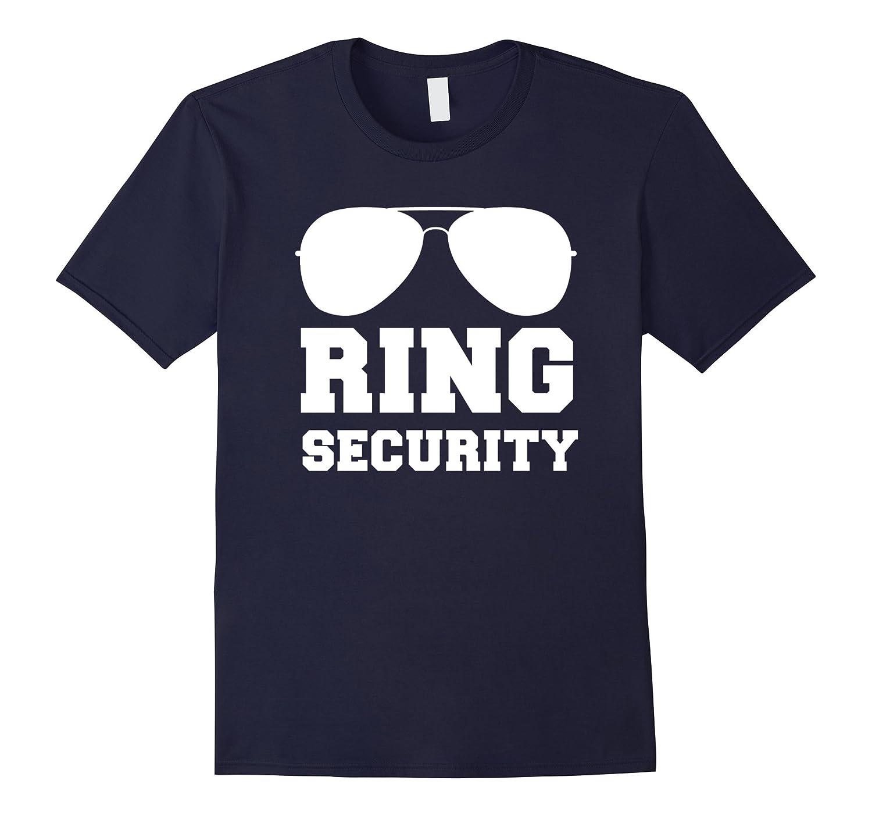 Ring Security Shirt | Ring Bearer T-Shirt Boys Wedding Party-ah my shirt one gift